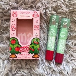 Colourpop Animal Crossing Fruit Basket Set